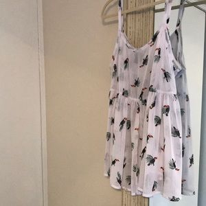 Baby doll style tank